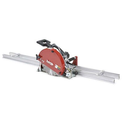 "MK Diamond MK-1590 13 Amp 1.75 HP 120 V 12"" Blade Capacity Electric Wet Cutting Rail Saw"
