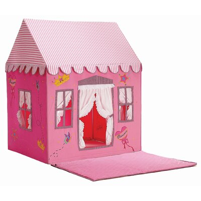 Dexton Kids Fengi Princess Playhouse and Floor Quilt
