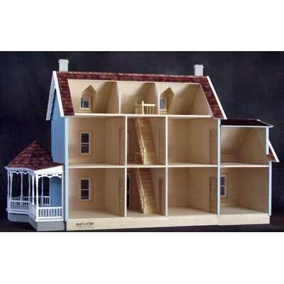 Real Good Toys Maple Hill Dollhouse in Milled Plywood