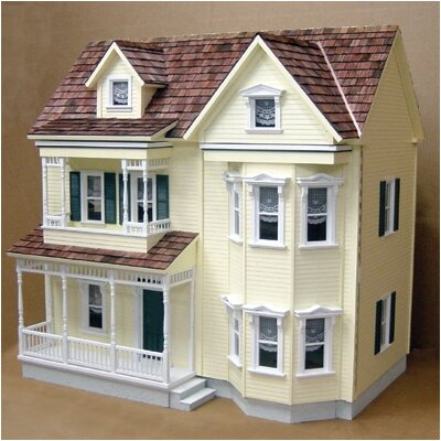 Front-Opening Country Victorian Dollhouse