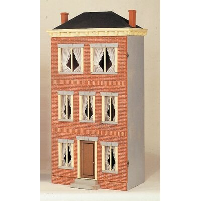 Franklin Street-Prebricked Dollhouse