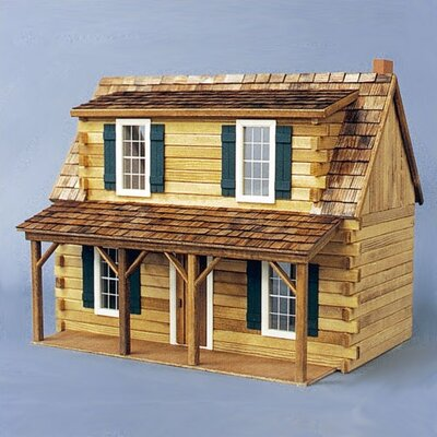 Real Good Toys Adirondack Cabin Dollhouse