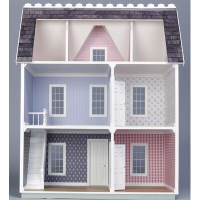 Real Good Toys Junior Finished Vermont Farmhouse in Pink