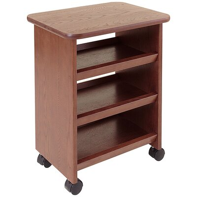 Manchester Wood Multipurpose Cart in Chestnut