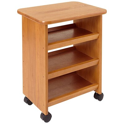Manchester Wood Multipurpose Cart in Golden Oak