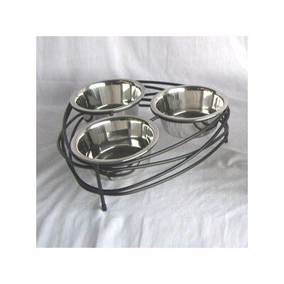 Triple Bowl Mesh Diner Small