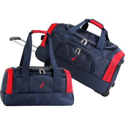 Nautica Charter 2 Piece Duffel Bag Set