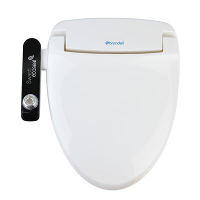 Brondell Swash Ecoseat Advanced Elongated Bidet Toilet Seat