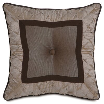 Galbraith Marion Slate Tufted Pillow