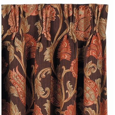 Eastern Accents Hayworth Cotton Rod Pocket Curtain Single Panel