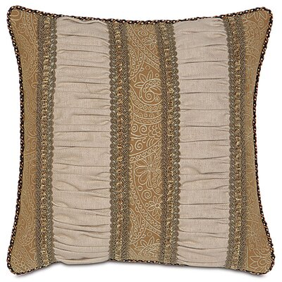 Aston Polyester Filly Ruched Inserts Decorative Pillow