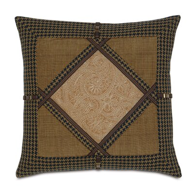 Eastern Accents Aston Polyester Leinster Diamond Collage Decorative Pillow
