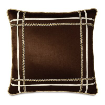 Bellezza Polyester Shantung Decorative Pillow with Small Welt