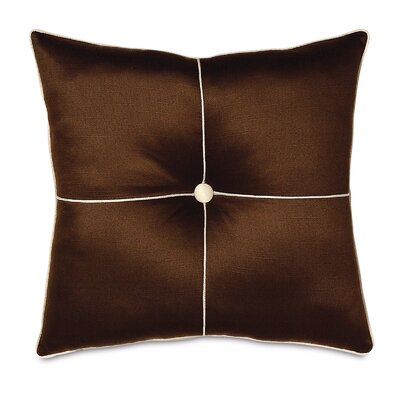 Bellezza Polyester Shantung Tufted Decorative Pillow