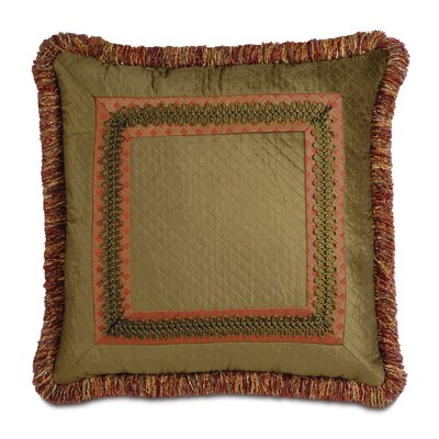 Eastern Accents Botham Polyester Reuss Border Collage Decorative Pillow