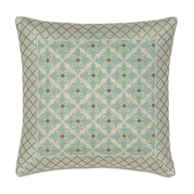 Eastern Accents Avila Polyester Arlo Ice Decorative Pillow with Mitered Border