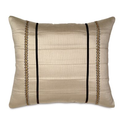 Bellezza Polyester Witcoff Linen Decorative Pillow with Pleats
