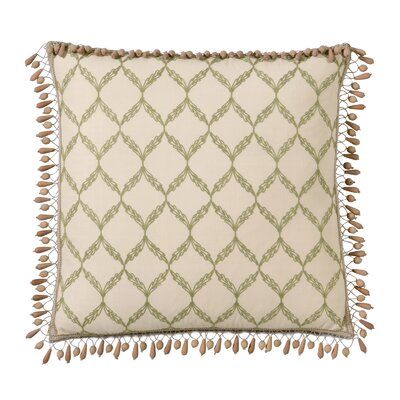 Eastern Accents Caicos Polyester Bartow Decorative Pillow with Beaded Trim