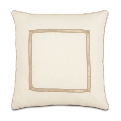 Eastern Accents Churchill Polyester Filly Decorative Pillow with Mitered Corners