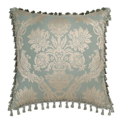 Carlyle Polyester Decorative Pillow with Tassel Trim