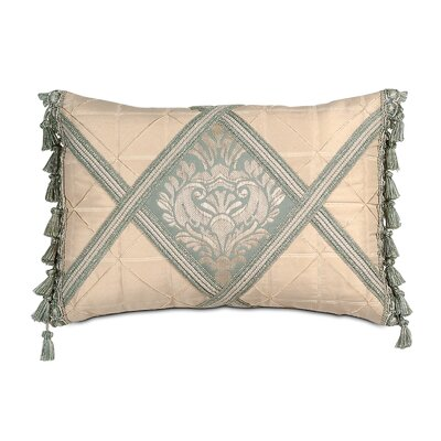 Carlyle Polyester Diamond Insert Decorative Pillow