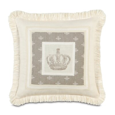 Eastern Accents Daphne Polyester Border Collage Decorative Pillow