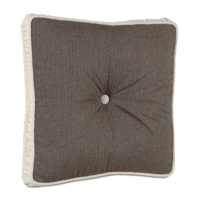 Daphne Polyester Flint Boxed and Tufted Decorative Pillow