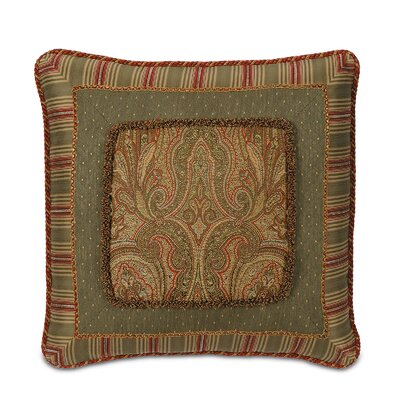 Glenwood Border Collage Decorative Pillow
