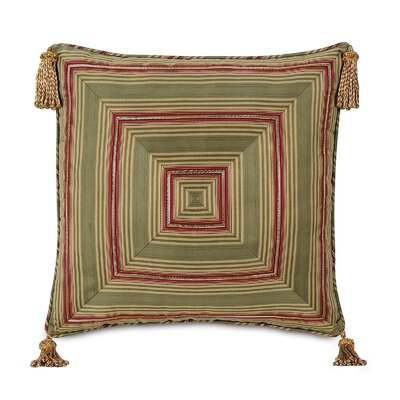 Eastern Accents Glenwood Baines Patina Mitered Decorative Pillow