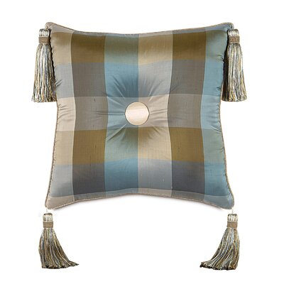 Kinsey Beckford Sky Tufted Decorative Pillow