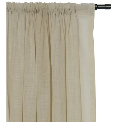 Eastern Accents Palapa Rod Pocket Curtain Single Panel