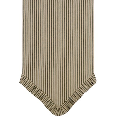 Eastern Accents Heirloom Ticking Stripe Table Runner