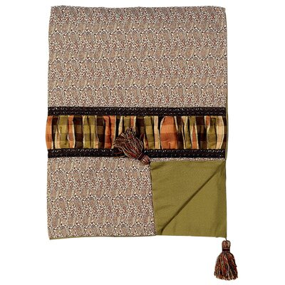 Eastern Accents Broderick Candace Toffee Throw