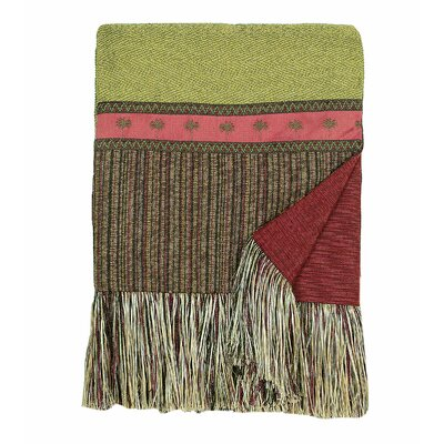 Eastern Accents Tahiti Polyester Patton Throw with Tonga Ends