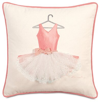 Matilda Polyester Ballerina Attire Decorative Pillow