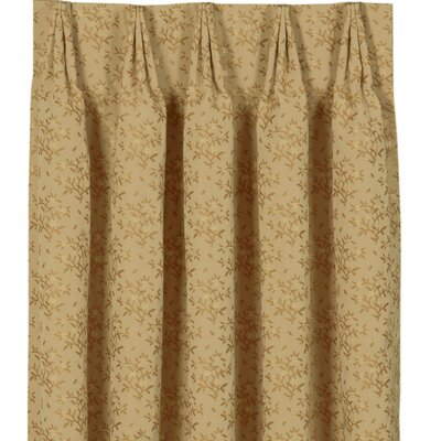 Eastern Accents Gabrielle Cotton Pleat Edora  Curtain Single Panel