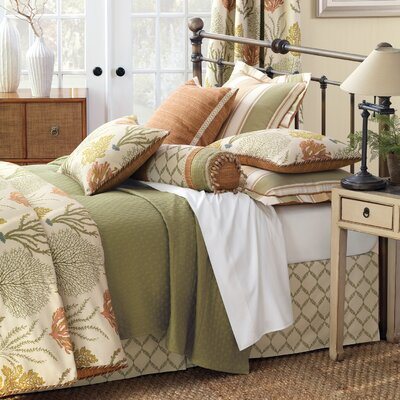 Caicos Button-Tufted Bedding Collection
