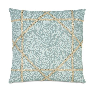 Eastern Accents Coastal Tidings Coastal Weaving Decorative Pillow