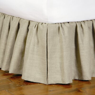 Eastern Accents Heirloom Ticking Stripe Ruffled Bed Skirt