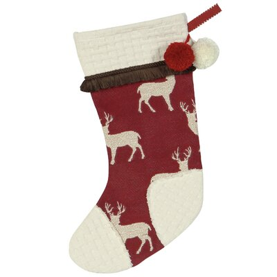 Eastern Accents Nordic Holiday Red Nose Stocking
