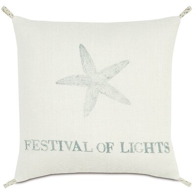 Coastal Tidings Festival of Lights Pillow