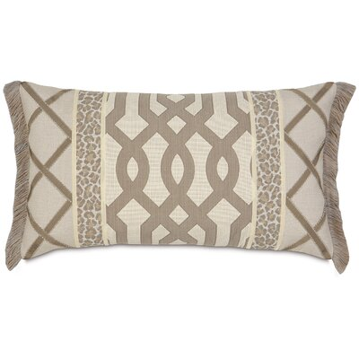 Eastern Accents Rayland Polyester Insert Decorative Pillow with Brush Fringe
