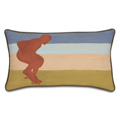 Eastern Accents Pinkerton Eli Polyester Skateboarder Decorative Pillow