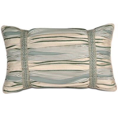Eastern Accents Carlyle Polyester Luxembourgh Spa Ruched Decorative Pillow