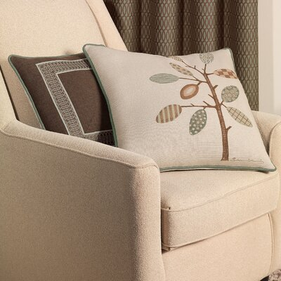 Eastern Accents Cambium Polyester Leon Decorative Pillow with Border