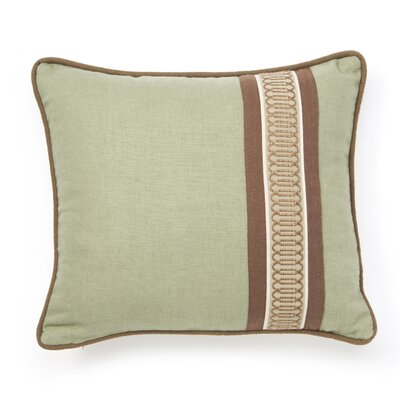 Cambium Polyester Leon Fern Decorative Pillow with Border