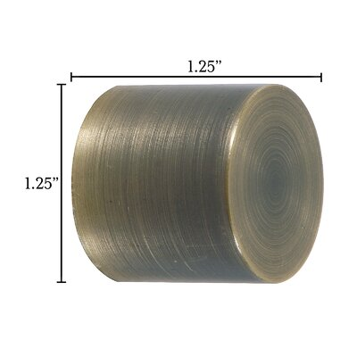 Eastern Accents Metallique Basic Curtain Cap