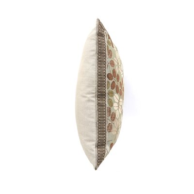 Eastern Accents Cambium Polyester Decorative Pillow with Mitered Border