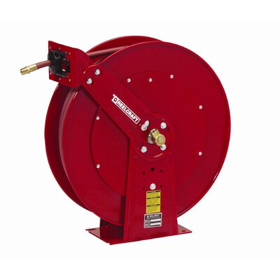 "Reelcraft 0.5"" x 100', 300 psi, Heavy Industrial Air / Water Reel with Hose"