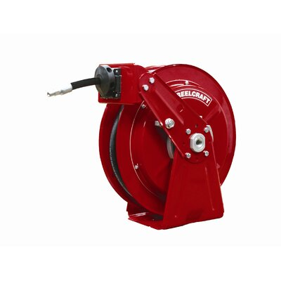 "Reelcraft 0.38"" x 50', 2250 psi, Compact Oil Reel with Hose"